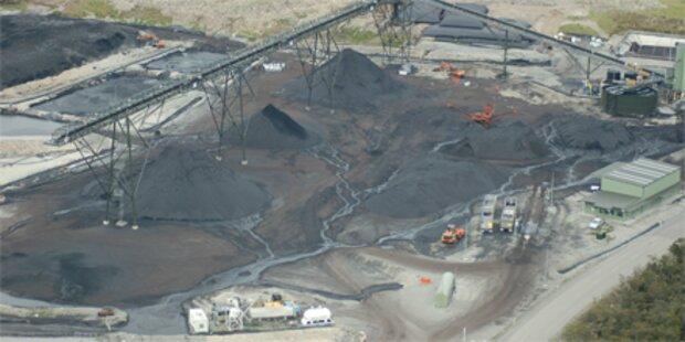Drei Bergarbeiter bei Mineneinsturz getötet