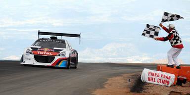 Loeb stellte im Peugeot 208 Fabelrekord auf