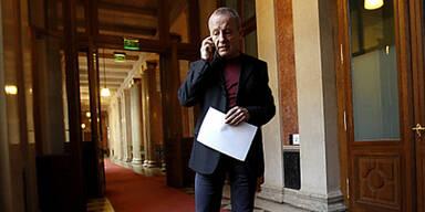 Peter Pilz; U-Ausschuss im Parlament