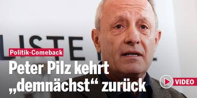 Comeback von Peter Pilz