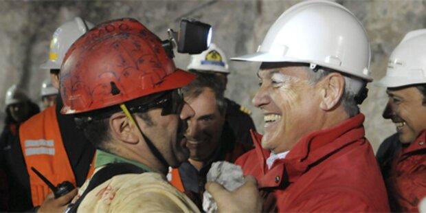 Chile-Kumpel attackieren Präsident