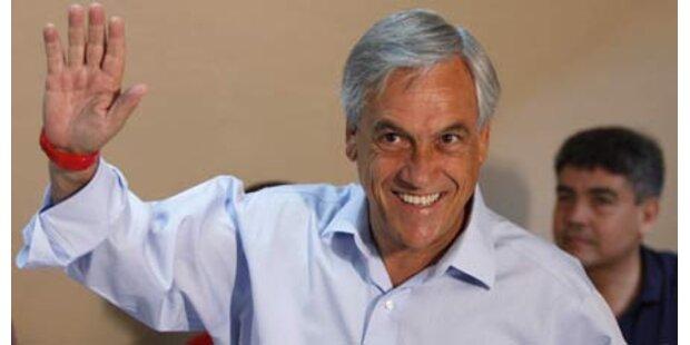 Milliardär Pinera neuer Präsident Chiles