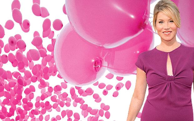 Pinkes Fest der Superlative