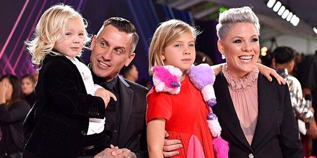 People's Choice Awards: Pink nahm ihre Kids mit