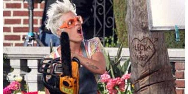 Trotz Hass-Video: Pinks Ex-Mann mag sie trotzdem