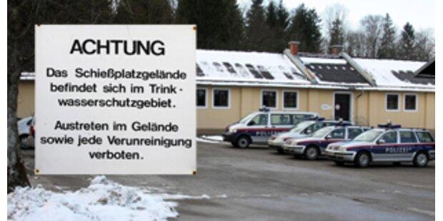 Pinkelverbot für Salzburger Cops