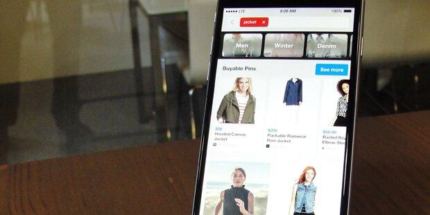 Pinterest führt Kauf-Button ein