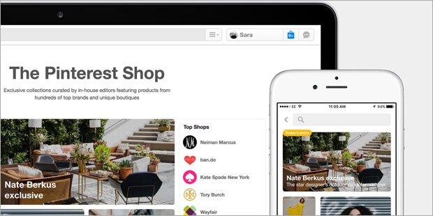 Pinterest baut Online-Shopping aus