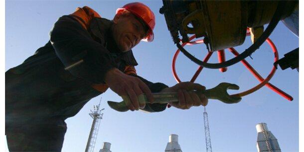 Öllieferungen nach Westeuropa unterbrochen