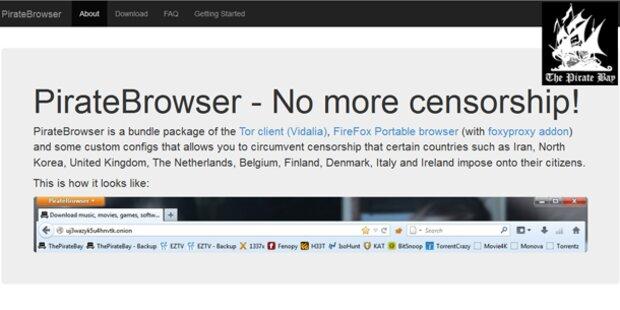 The Pirate Bay-Browser ist auf Rekordkurs