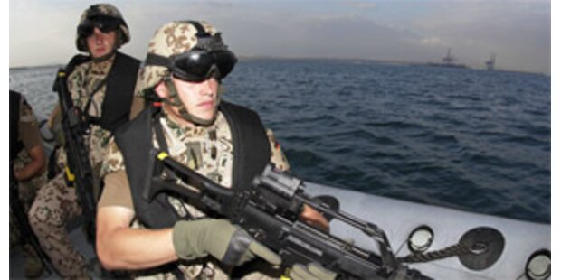 Mobilmachen gegen Piraterie vor Somalia