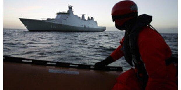 Dänische Marine schlägt Piraten in die Flucht
