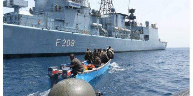 Piraten gehen deutscher Marine ins Netz