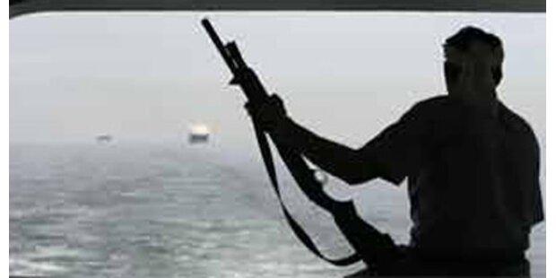 Somalische Piraten kaperten Frachtschiff