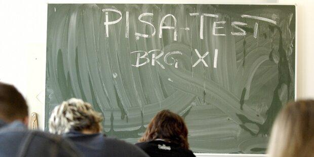 PISA: Österreich steckt im Mittelmaß fest