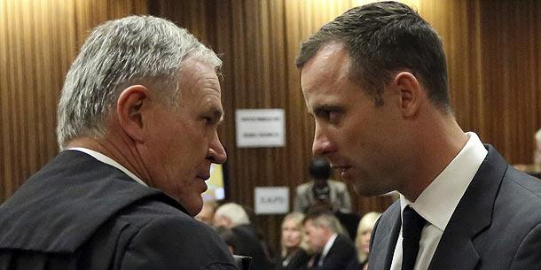 Barry Roux und Oscar Pistorius