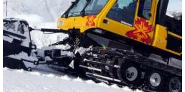 Pistenraupe überrollte sechs Bergbahn-Mitarbeiter