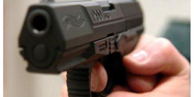Mit Luftdruckpistole auf Fußgänger geschossen