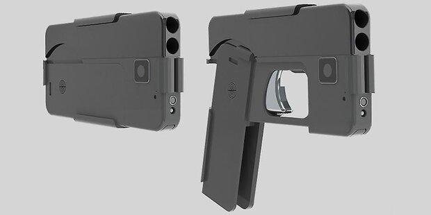 Neue Pistole tarnt sich als Smartphone