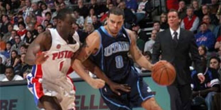 Pistons verlieren zuhause gegen Utah Jazz