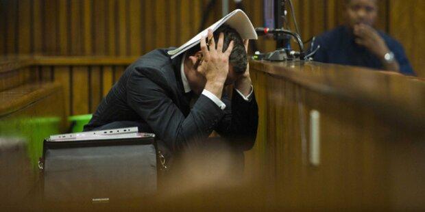Pistorius übergibt sich bei Leichenfotos