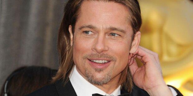 Brad Pitt vergibt  MTV-Movie Awards in L.A.