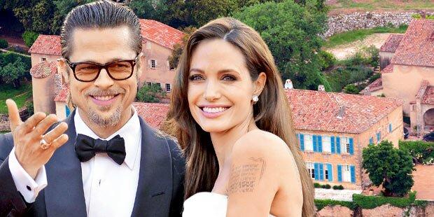 Pitt & Jolie: So lief ihre Geheim-Hochzeit