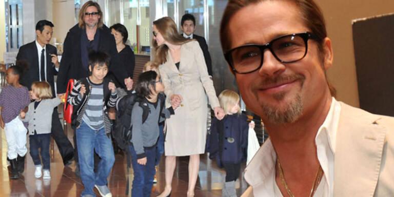 Brad Pitt kauft seinen Kids einen Zoo