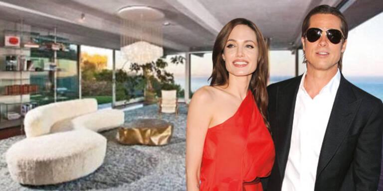 Angelina & Brad zeigen Malibu-Villa