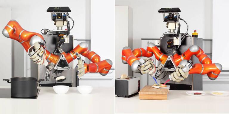 Kochender Roboter sorgt für Furore