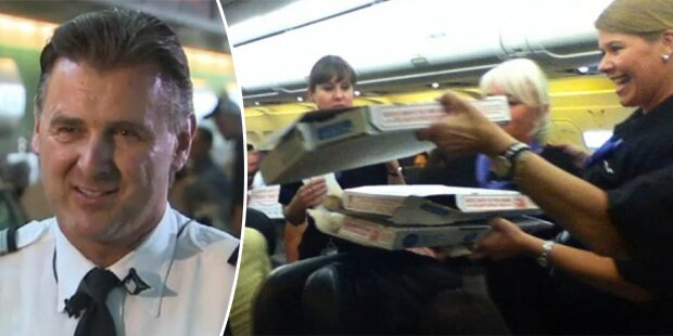 Pizza-Pilot ist aus Österreich