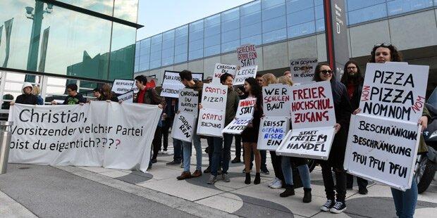 Sozialistische Jugend protestierte gegen Kern
