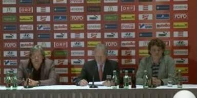 Aus für Constantini: Die Pressekonferenz