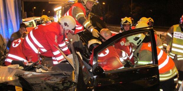 Schwerer Unfall vor Plabutschtunnel
