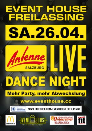Antenne Salzburg Live: Eventhouse Dance Night