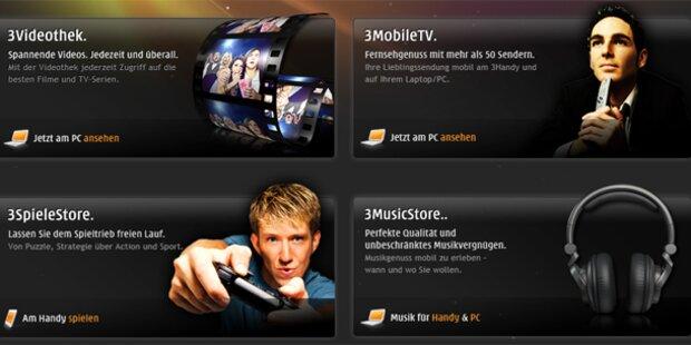 """3Mediabox: """"3"""" steigt in den TV-Markt ein"""