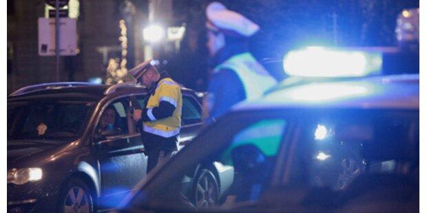 Porschefahrerin raste Polizei davon