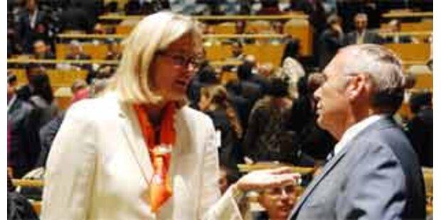 Plassnik: Österreich bald in UNO-Sicherheitsrat