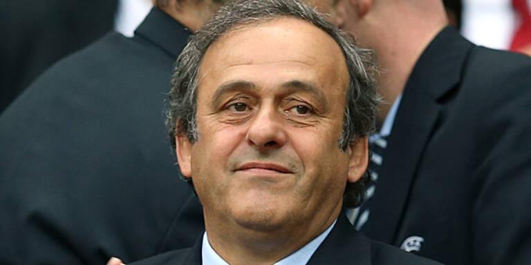 Platini fordert WM 2018 mit 40 Teams
