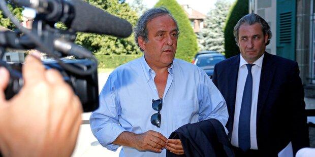 Ex-UEFA-Boss Platini aus Gewahrsam entlassen