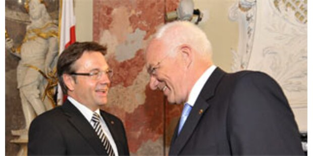 Platter neuer Landeshauptmann in Tirol