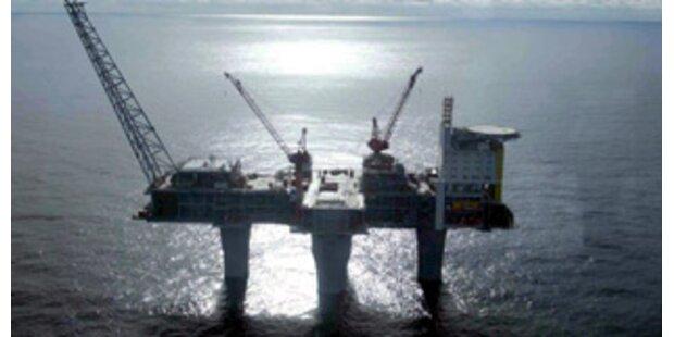 Briten evakuierten Nordsee-Bohrinsel nach