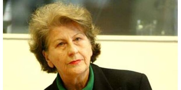 Bosnisch-serbische Ex-Präsidentin frei?
