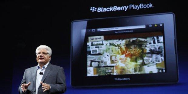 Jetzt zickt Blackberrys Tablet-PC