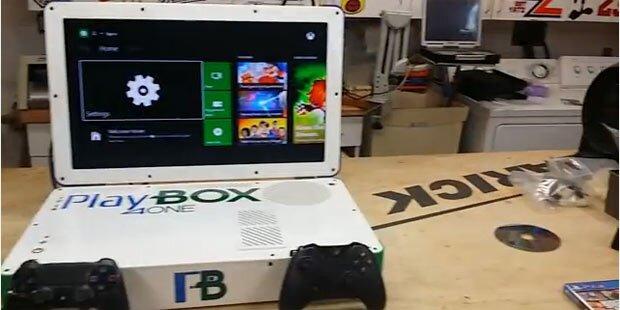 PS4 und Xbox One in einem Notebook