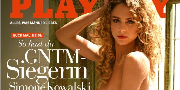 GNTM-Siegerin Simone zeigt sich nackt im Playboy