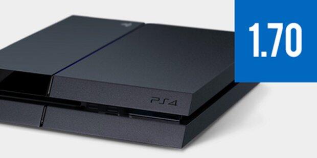 Großes Update macht die PS4 noch besser