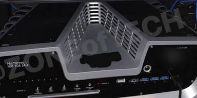 Foto zeigt die PlayStation 5