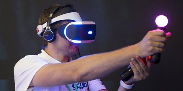 PlayStation VR in Wien vor Start testen
