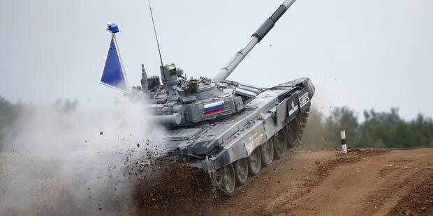 Russen gewannen